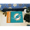 "FANMATS NFL - Miami Dolphins Uniform Inspired Starter Rug 19""x30"""