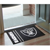 "FANMATS NFL - Oakland Raiders Uniform Inspired Starter Rug 19""x30"""