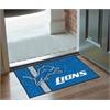 "FANMATS NFL - Detroit Lions Uniform Inspired Starter Rug 19""x30"""