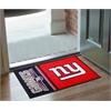 """FANMATS NFL - New York Giants Uniform Inspired Starter Rug 19""""x30"""""""