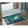 """FANMATS NFL - Philadelphia Eagles Uniform Inspired Starter Rug 19""""x30"""""""