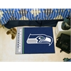 "FANMATS NFL - Seattle Seahawks Uniform Inspired Starter Rug 19""x30"""