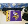 """FANMATS NFL - Minnesota Vikings Uniform Inspired Starter Rug 19""""x30"""""""