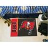 "FANMATS NFL - Tampa Bay Buccaneers Uniform Inspired Starter Rug 19""x30"""