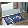 "FANMATS NFL - St. Louis Rams Uniform Inspired Starter Rug 19""x30"""
