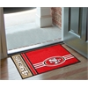 "FANMATS NFL - San Francisco 49ers Uniform Inspired Starter Rug 19""x30"""
