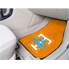 "FANMATS Tennessee 2-piece Carpeted Car Mats 17""x27"""
