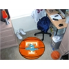 "FANMATS Tennessee Basketball Mat 27"" diameter"