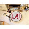 "FANMATS Alabama Baseball Mat 27"" diameter"
