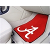"FANMATS Alabama 2-piece Carpeted Car Mats 17""x27"""