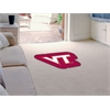 FANMATS Virginia Tech Mascot Mat Approx. 3 ft x 4 ft