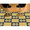 """FANMATS Notre Dame Carpet Tiles 18""""x18"""" tiles"""