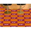 "FANMATS Virginia Tech Carpet Tiles 18""x18"" tiles"