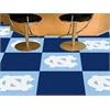 """FANMATS UNC - Chapel Hill Carpet Tiles 18""""x18"""" tiles"""