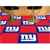 "FANMATS NFL - New York Giants Carpet Tiles 18""x18"" tiles"
