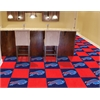 "FANMATS NFL - Buffalo Bills Carpet Tiles 18""x18"" tiles"