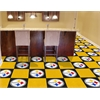 "FANMATS NFL - Pittsburgh Steelers Carpet Tiles 18""x18"" tiles"