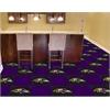 "FANMATS NFL - Baltimore Ravens Carpet Tiles 18""x18"" tiles"