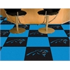 "FANMATS NFL - Carolina Panthers Carpet Tiles 18""x18"" tiles"