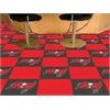 "FANMATS NFL - Tampa Bay Buccaneers Carpet Tiles 18""x18"" tiles"