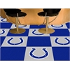 "FANMATS NFL - Indianapolis Colts Carpet Tiles 18""x18"" tiles"