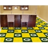 "FANMATS NFL - Green Bay Packers Carpet Tiles 18""x18"" tiles"