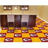 "FANMATS NFL - Kansas City Chiefs Carpet Tiles 18""x18"" tiles"