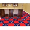 "FANMATS NFL - Houston Texans Carpet Tiles 18""x18"" tiles"