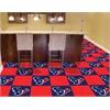 "FANMATS NFL - Houston Texans Carpet Tiles 18""x18"" tiles"