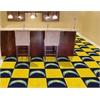 """FANMATS NFL - San Diego Chargers Carpet Tiles 18""""x18"""" tiles"""