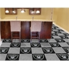 "FANMATS NFL - Oakland Raiders Carpet Tiles 18""x18"" tiles"