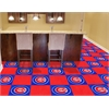 "FANMATS MLB - Chicago Cubs Carpet Tiles 18""x18"" tiles"