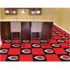 "FANMATS MLB - Cincinnati Reds Carpet Tiles 18""x18"" tiles"