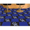 "FANMATS MLB - Colorado Rockies Carpet Tiles 18""x18"" tiles"