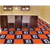 "FANMATS MLB - Detroit Tigers Carpet Tiles 18""x18"" tiles"