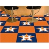 "FANMATS MLB - Houston Astros Carpet Tiles 18""x18"" tiles"