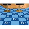 "FANMATS MLB - Kansas City Royals Carpet Tiles 18""x18"" tiles"