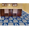 "FANMATS MLB - Los Angeles Dodgers Carpet Tiles 18""x18"" tiles"