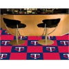 "FANMATS MLB - Minnesota Twins Carpet Tiles 18""x18"" tiles"