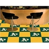 "FANMATS MLB - Oakland Athletics Carpet Tiles 18""x18"" tiles"