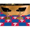 "FANMATS MLB - Philadelphia Phillies Carpet Tiles 18""x18"" tiles"