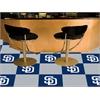"FANMATS MLB - San Diego Padres Carpet Tiles 18""x18"" tiles"