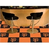 "FANMATS MLB - San Francisco Giants Carpet Tiles 18""x18"" tiles"