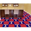 "FANMATS MLB - Texas Rangers Carpet Tiles 18""x18"" tiles"