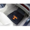 "FANMATS Tennessee Heavy Duty 2-Piece Vinyl Car Mats 17""x27"""