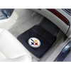 "FANMATS NFL - Pittsburgh Steelers Heavy Duty 2-Piece Vinyl Car Mats 17""x27"""