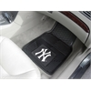 "FANMATS MLB - New York Yankees Heavy Duty 2-Piece Vinyl Car Mats 17""x27"""