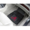 "FANMATS Alabama Heavy Duty 2-Piece Vinyl Car Mats 17""x27"""