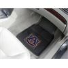 "FANMATS Auburn Heavy Duty 2-Piece Vinyl Car Mats 17""x27"""