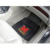 "FANMATS Maryland Heavy Duty 2-Piece Vinyl Car Mats 17""x27"""